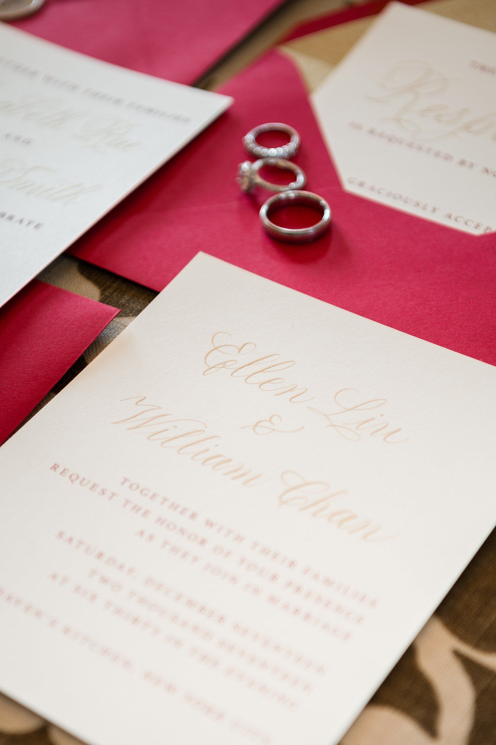 Venue Deity NYC, Stationery & Calligraphy: Ellen Liu Chan (Designs ...