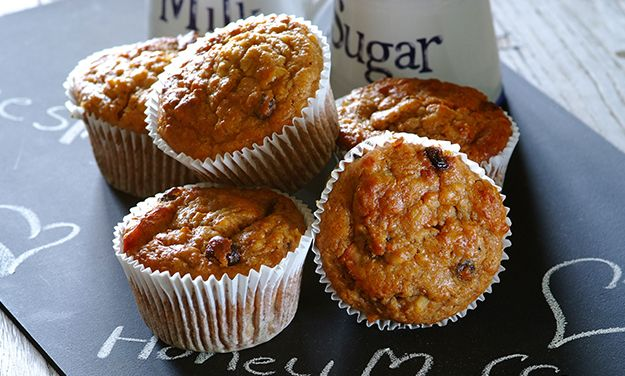 Our honey and muesli muffins recipe is easy to follow, but the muffins need refrigerating overnight. Once baked, they're perfect for snacks or lunch box fillers!
