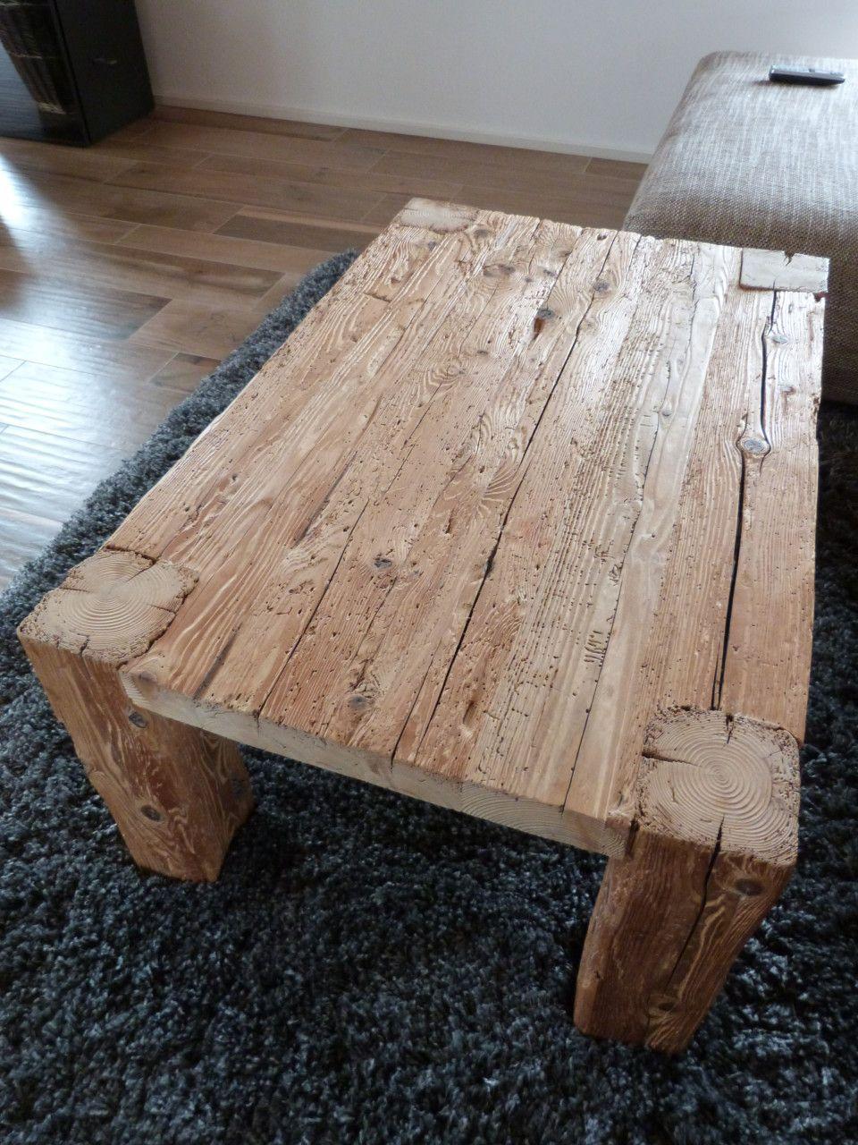 Couchtisch Altholz Deutch Deko Einrichtung Diy Coffee Table