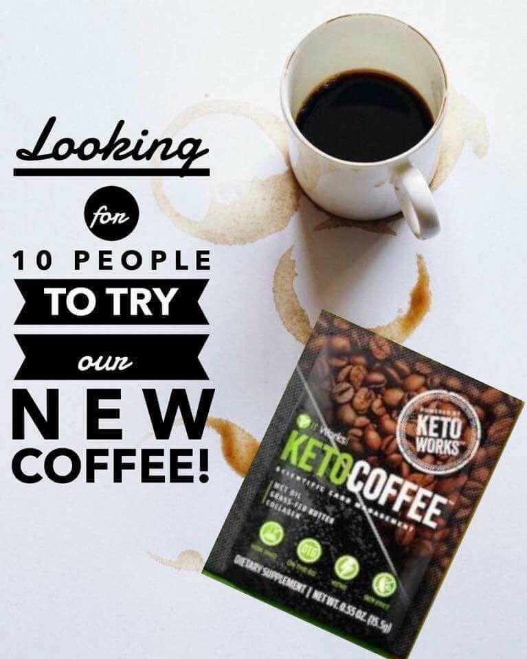 Our New Keto Coffee Blairvictoriaitworks Or Text Me 3172131144