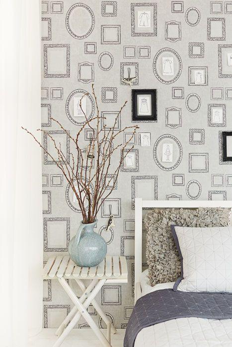 Обои для стен с рамками 356111 Eijffinger 356111– купить по доступной цене в интернет-магазине Ампир Декор
