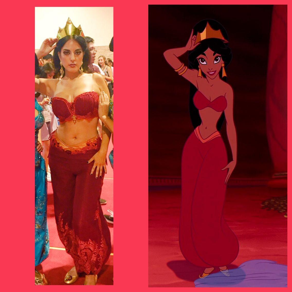 Disney Jasmine Red Costume Cb5a2e Jakkamma Com