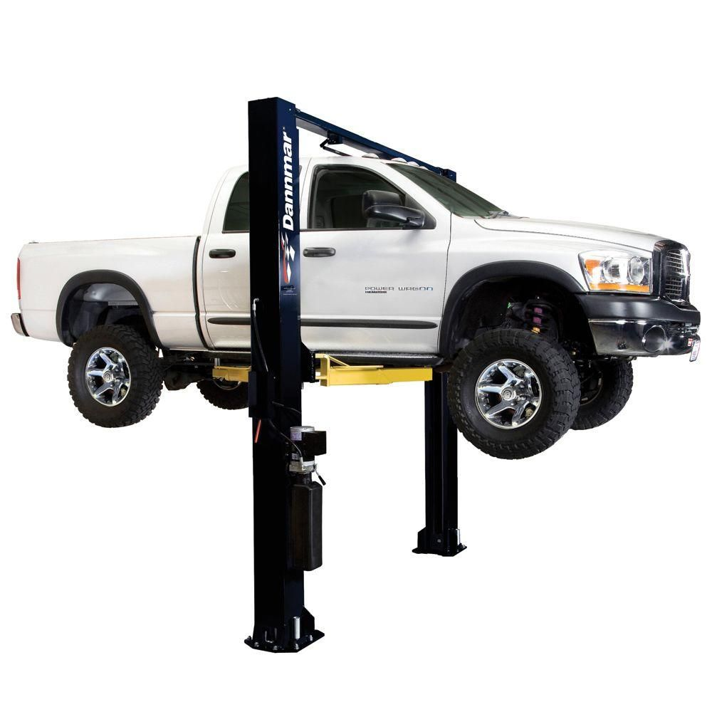Brigadier 10 000 Lb Symmetrical Clear Floor 2 Post Lift Lifted Trucks Trucks Lifted Diesel Diesel Trucks