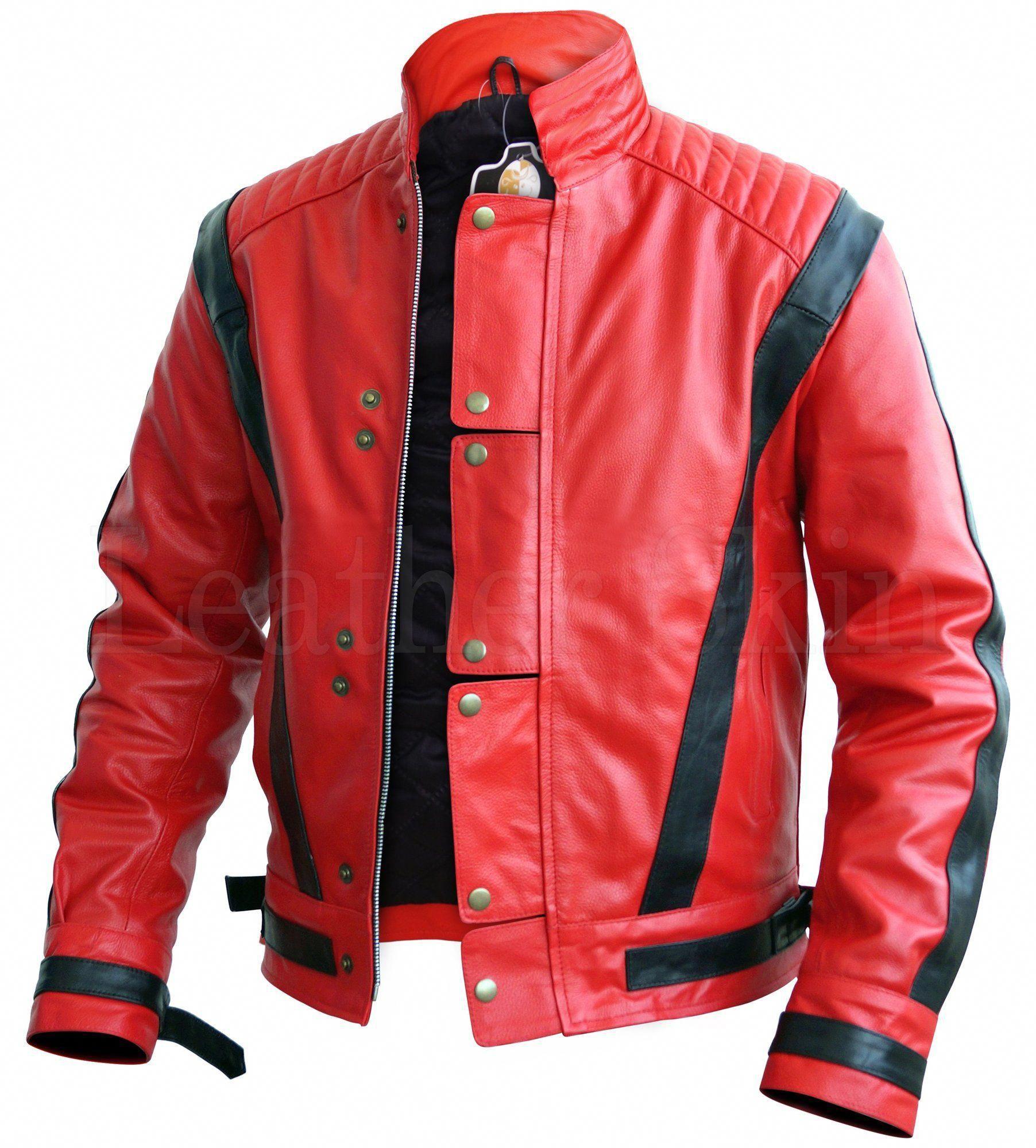 Leather Skin Men Red Thriller Premium Genuine Leather