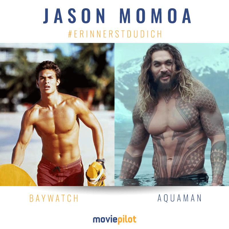 Jason Momoa Baywatch Vs Aquaman Aquaman Jason Momoa Aquaman Baywatch
