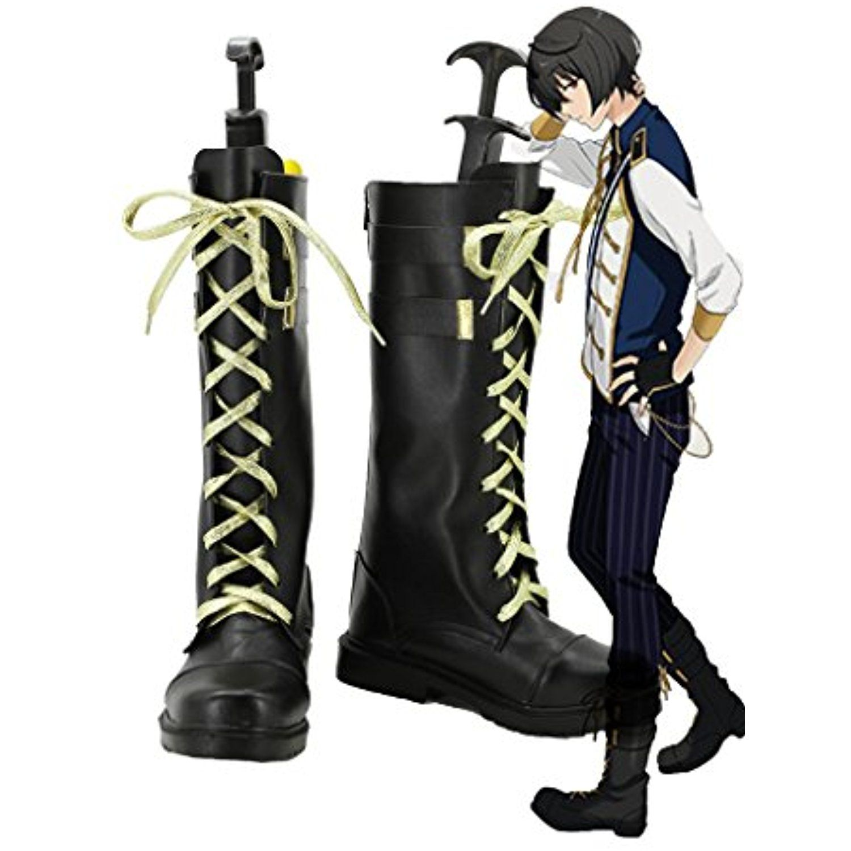 Ensemble Stars Sakuma Ritsu knights Cosplay Shoes Boots Custom Made