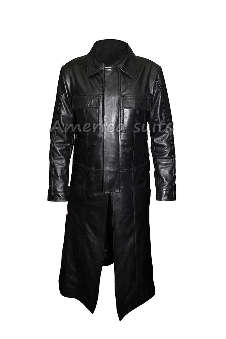 The Punisher Thomas Jane Frank Castle Trench Leather Coat