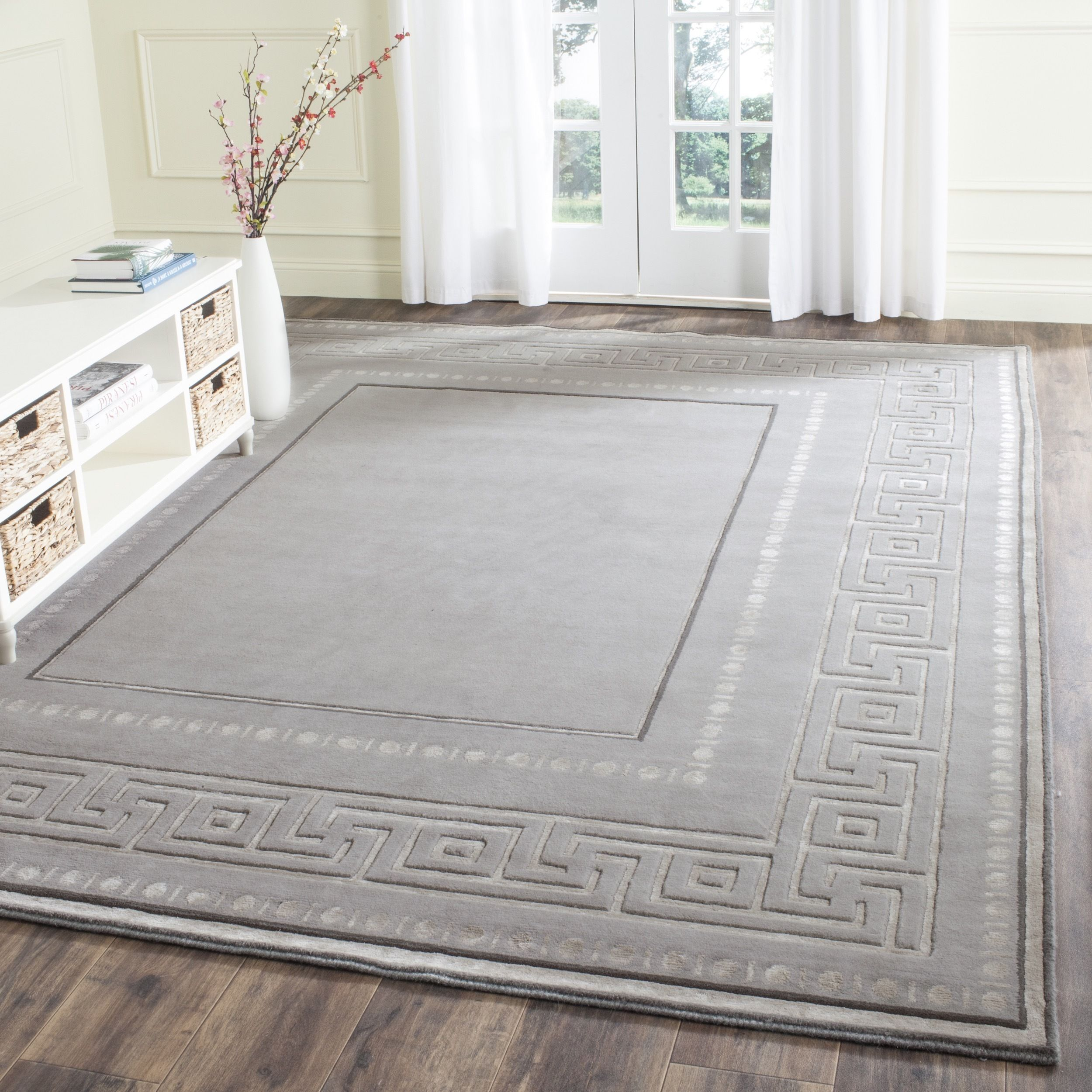 Safavieh Couture Hand Knotted Tibetan Birgit Modern Wool Rug Rugs Area Rugs Colorful Rugs