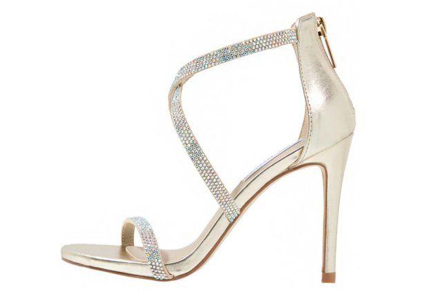 Buty Na Sylwestra 2015 Zlote I Srebrne Szpilki 26135 Sandals Heels Heels Fashion Shoes