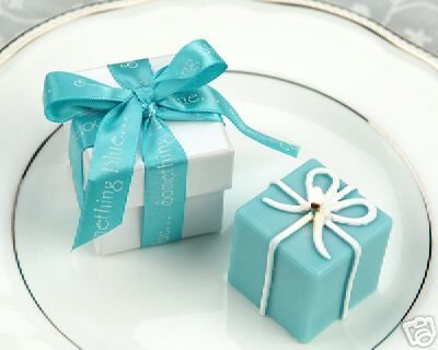 Tiffany Blue Candles For A Party Favor Love This 3