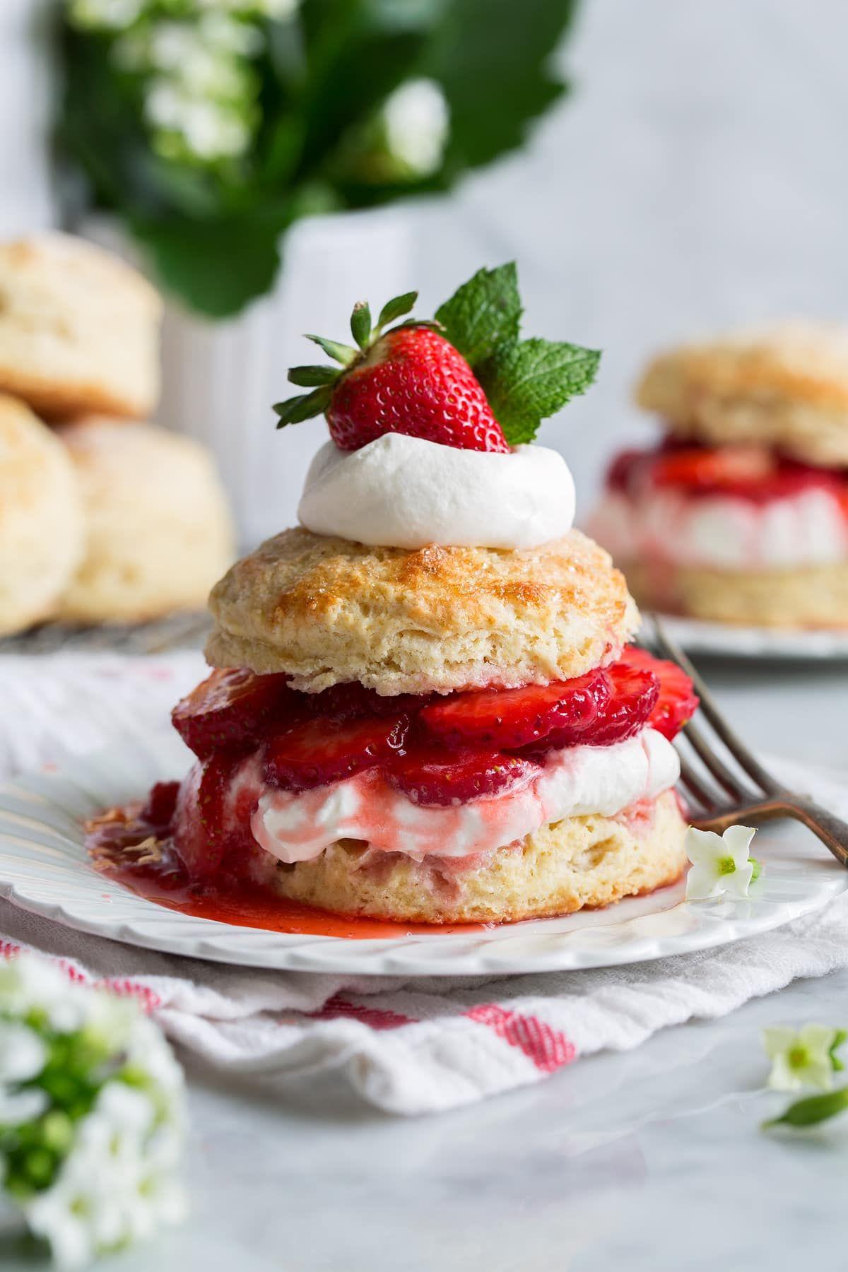 Strawberry Shortcake Cooking Classy Shortcake recipe