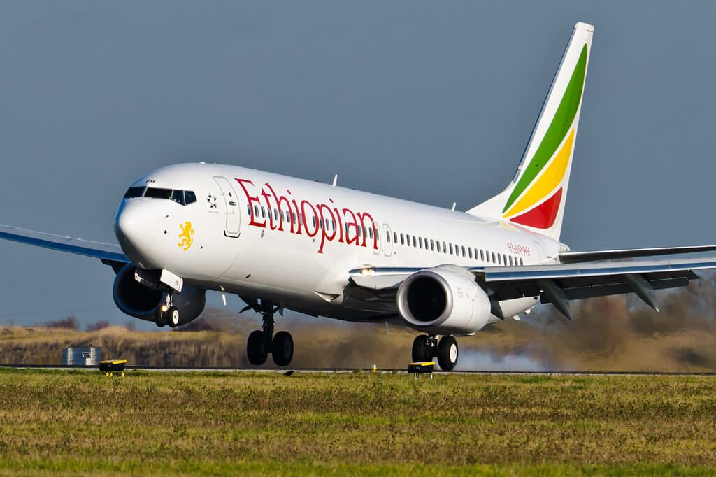 Ethiopian Airlines Fleet Boeing 737 800 Details And Pictures Airlinesfleet Com Fleet Boeing 737 Airlines