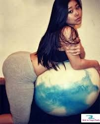 asian girls booty Big