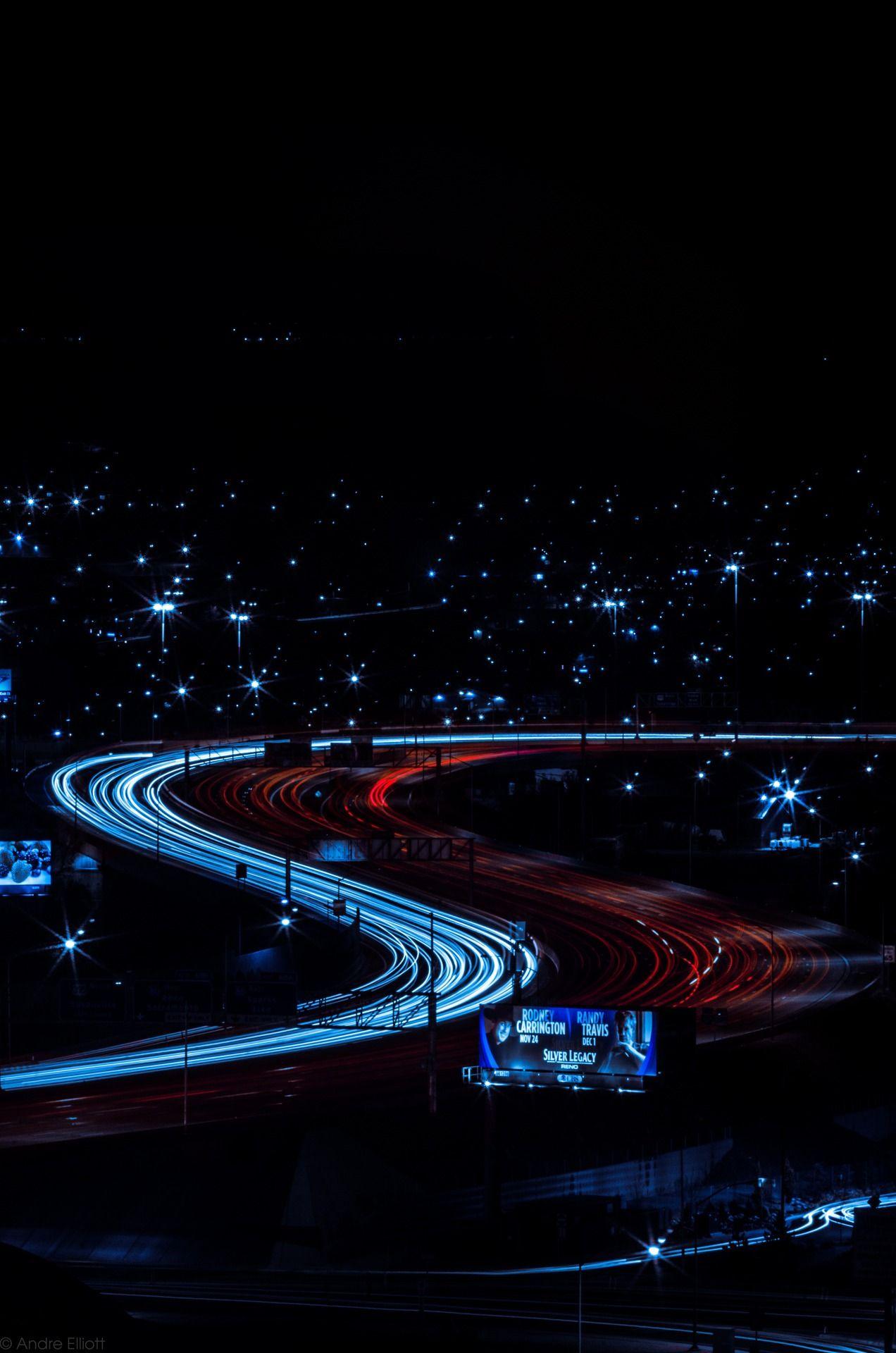 /// Reno's curves at night