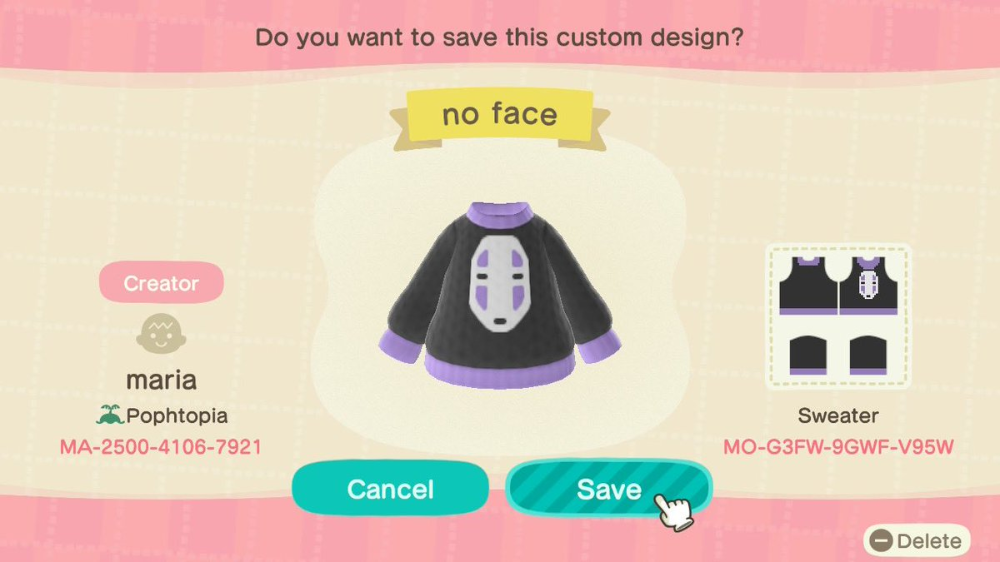 Maria On Twitter Animal Crossing Animal Crossing Qr Codes Clothes Animal Crossing Game