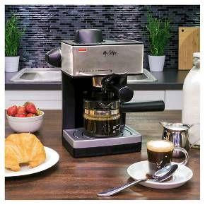 Mr Coffee Steam Espresso Cappuccino Maker Ecm160 Np Target Espresso Machine Coffee Steam Latte Coffee Maker