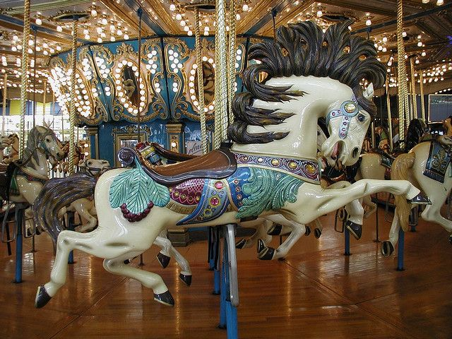 Carousel Horse- This is one of the carousel horses from the grand Carousel they have at Seaside Heights. I like the motion effects they used in its creation.