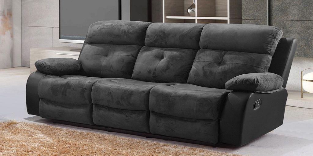 3 Seater Fabric Recliner Sofa Sofa Set Living Room Sofa Design