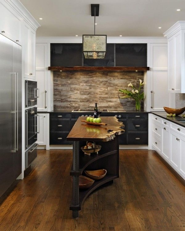 25 Unusual Kitchens That Will Inspire Your Next Makeover | Wood  Countertops, Countertops And Kitchen Design