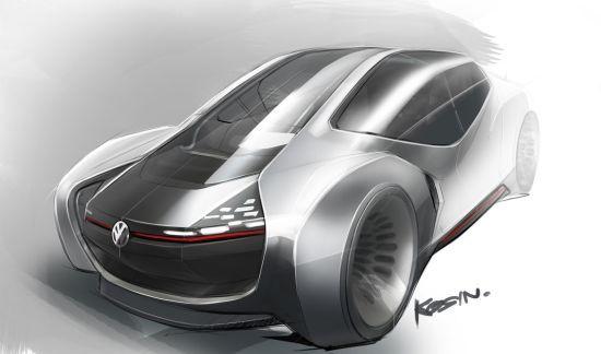 Volkswagen Trimaran Concept - year 2025