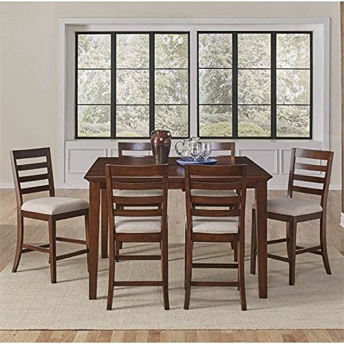 Westlake 7 Piece Dining Set: A-America Westlake 7 Piece Extendable Counter Height