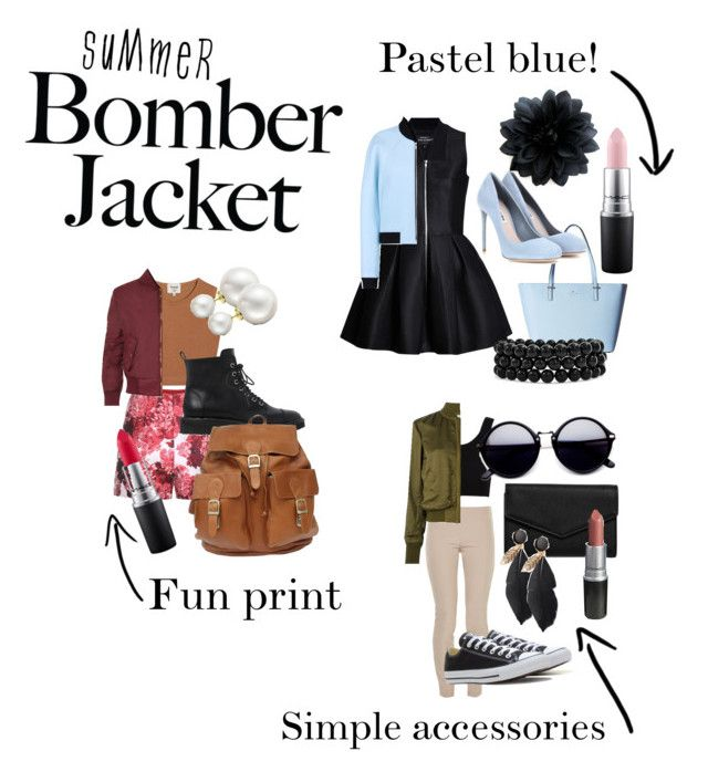 """Summer Bomber Jacket; endless possibilities!"" by purplesaberstaff ❤ liked on Polyvore featuring Kate Spade, Miu Miu, Balenciaga, Bling Jewelry, Samuji, Moncler Gamme Rouge, WearAll, Giuseppe Zanotti, Allurez and The Row"