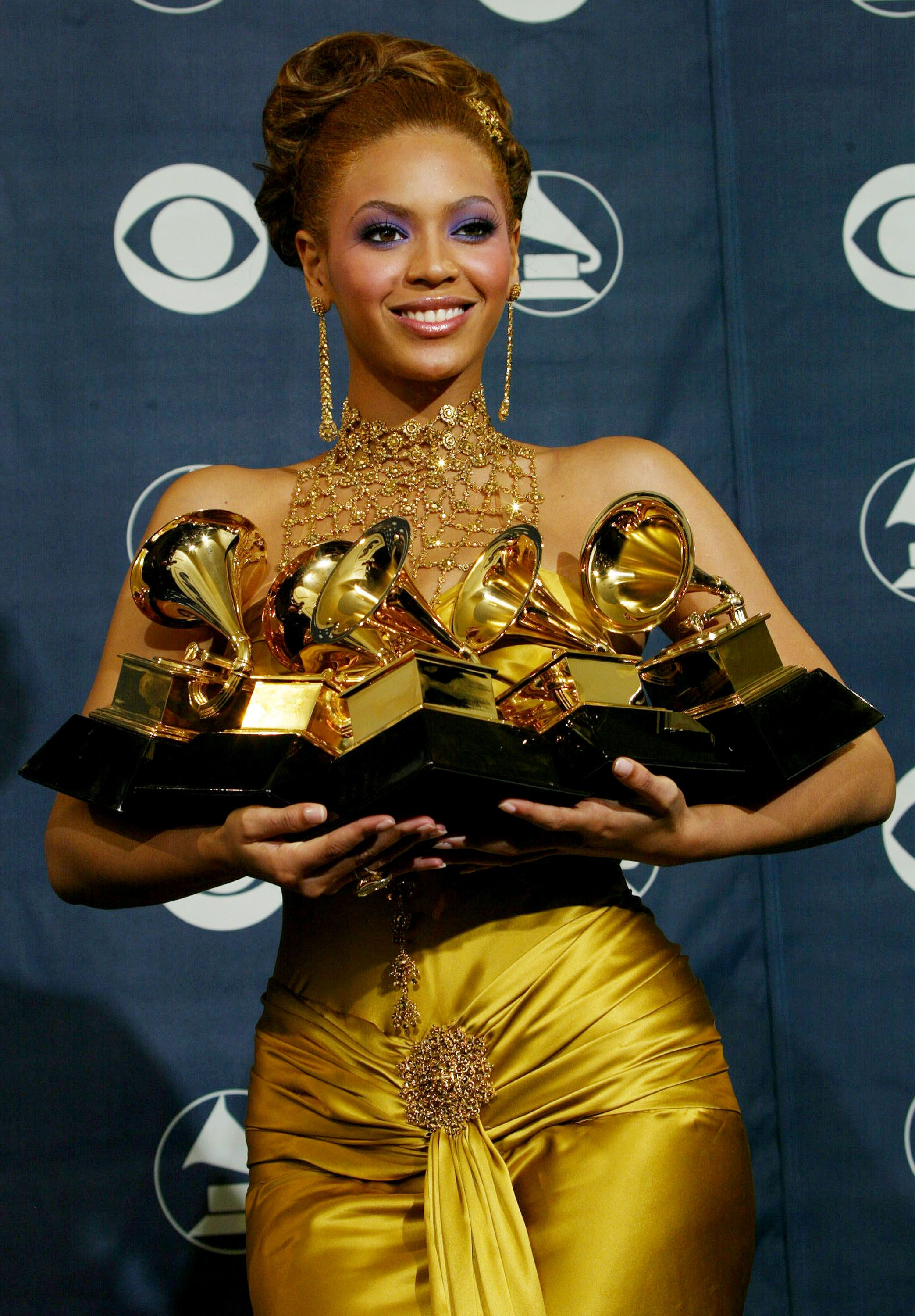 Beyonce Knowles wins 5 Grammy Awards in 2004 Beyonce