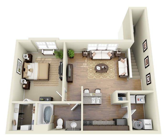 Garage Apartment Plans 2 Bedroom: Garage Apartment Plans Bedroom Real Estate Theapartment