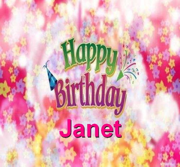 Janet With Images Happy Birthday Sharon Happy Birthday To