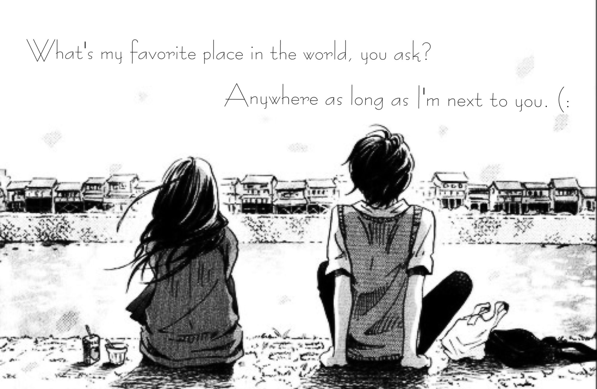 Pin by Jenny on Anime quotes  Boy and girl best friends, Friends