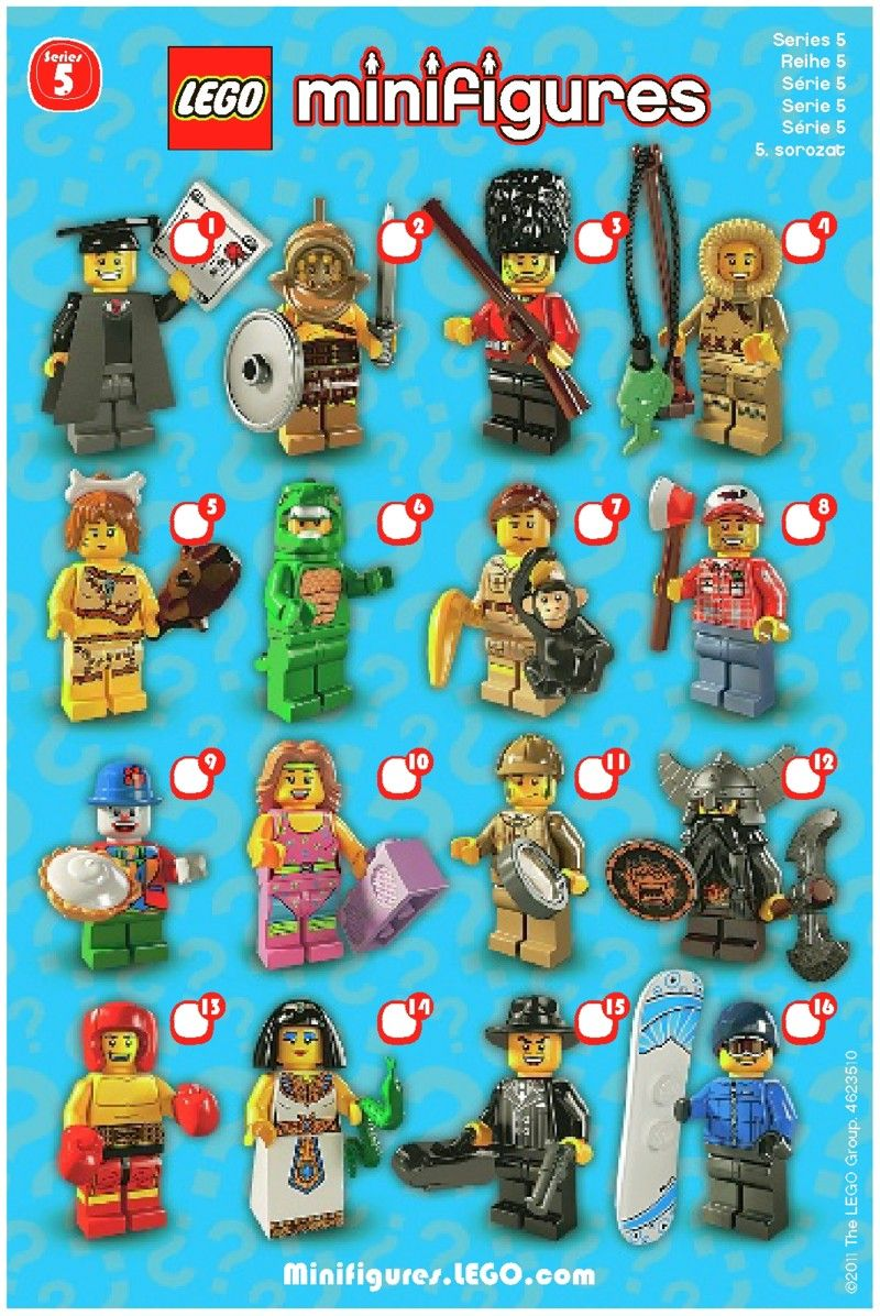 Lego ® Personnage Snowboarder neufs Minifig New