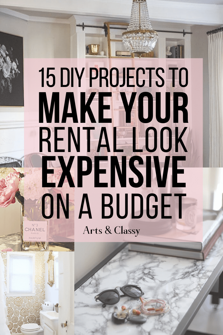 Diy Projects To Make Your Home Look Expensive Arts And Classy In 2020 Apartment Decorating On A Budget Diy Projects On A Budget Rental Home Decor