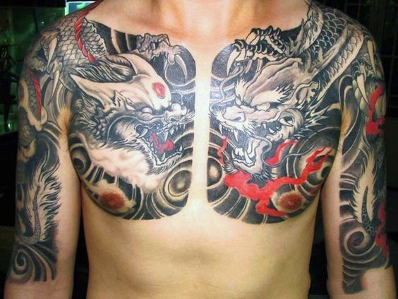 2632eb3a4 50 Chinese Dragon Tattoo Designs For Men – Flaming Ink Ideas ...