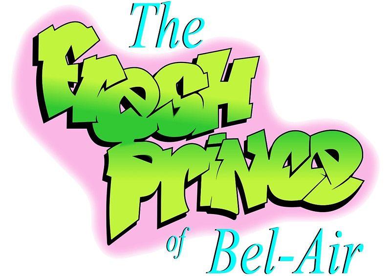 Fresh Prince Of Bel Air Logo By Emma Wood Fresh Prince Um Maluco No Pedaco Series E Filmes