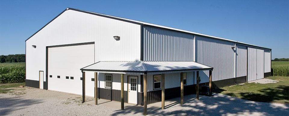 Farm Building Profile Use Large Ag Shop With Office And
