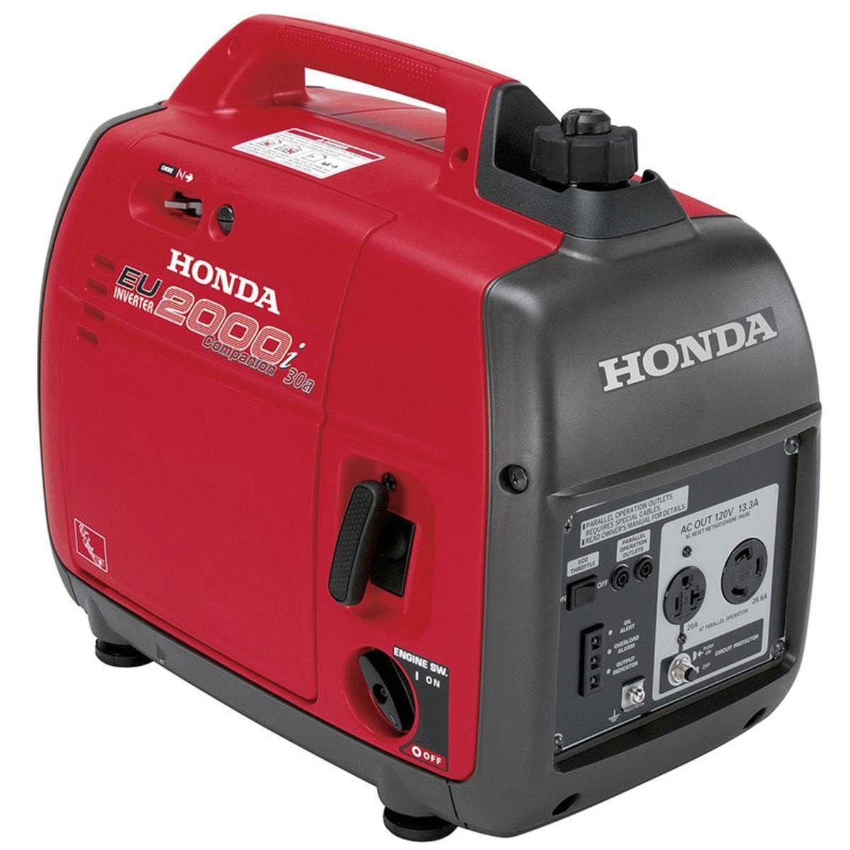 Honda EU2000 Portable Inverter Generator â 2000 Surge