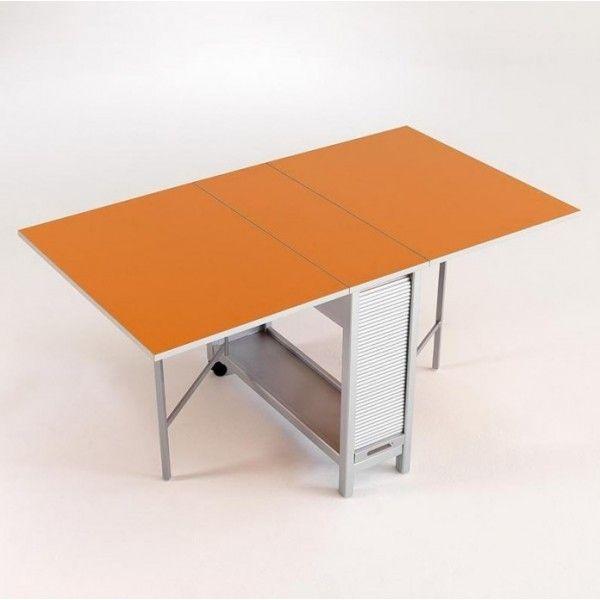 Mesa de cocina consola y 4 sillas plegables para mi casa for Mesas cocina plegables