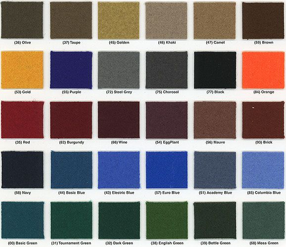 High Quality Felt Colors For Pool Tables   Google Search