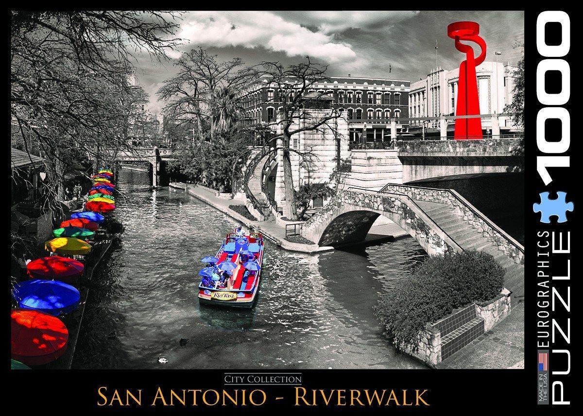 San Antonio - Riverwalk - 1000 Piece Jigsaw Puzzle