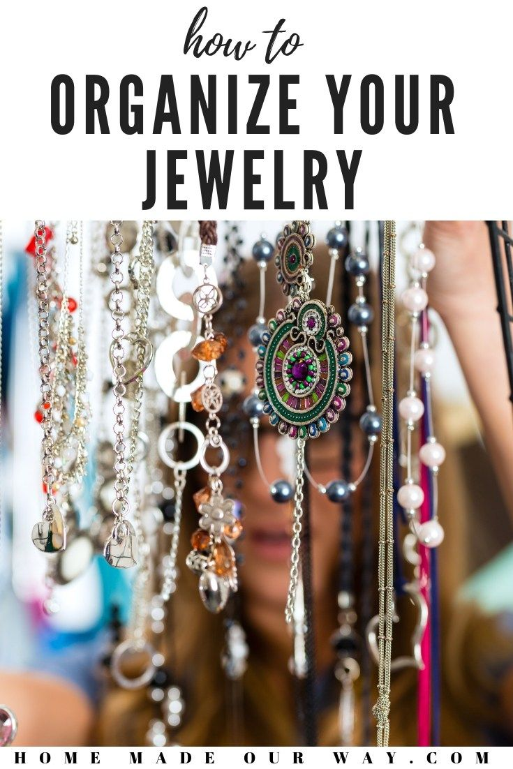 Jewelry - How to Organize Your Jewelry and Other ...