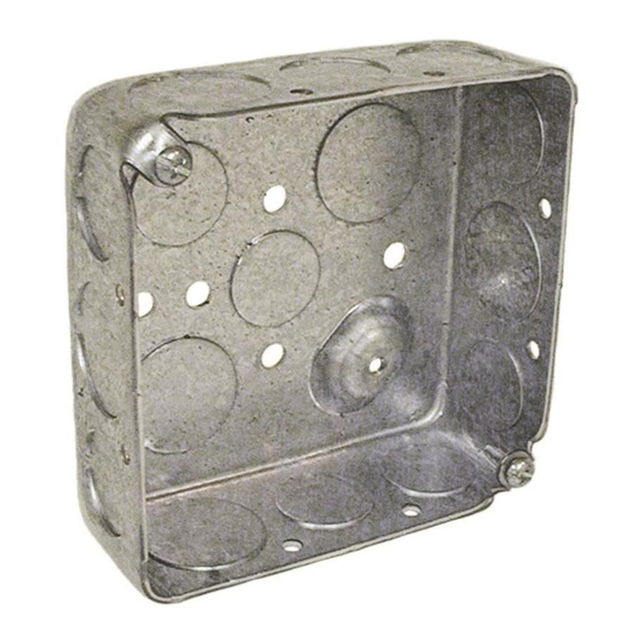 Raco 2 Gang Gray Metal Electrical Box Bakersfield Lowe S Aisle 11 Bay 16 Metal Electrical Box Fashion Box Metal News