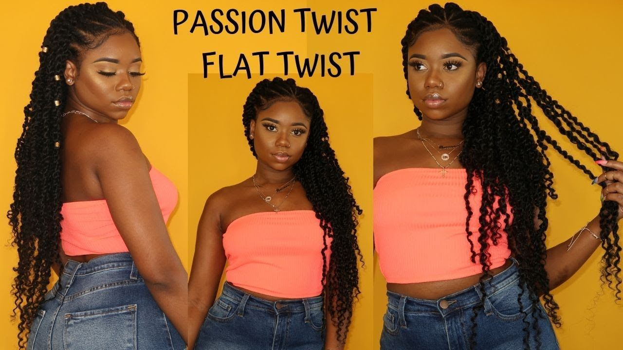 *NEW* PASSION TWIST AND FLAT TWIST HAIRSTYLE | RUBBER BAND AND CROCHET METHOD | Zury Water Wave - YouTube #passiontwistshairstyle *NEW* PASSION TWIST AND FLAT TWIST HAIRSTYLE | RUBBER BAND AND CROCHET METHOD | Zury Water Wave - YouTube #passiontwistshairstyle