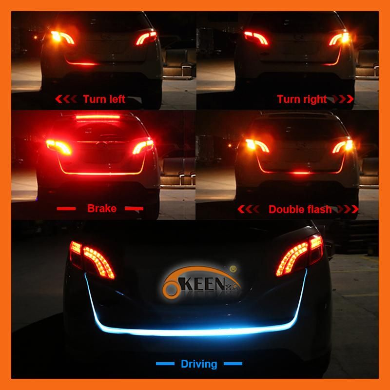 Led Strip Lights For Cars Okeen Led Trunk Strip Light With Side Turn Signals Rear Lights Car