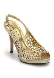 bbe7bad1c2 Carlton London Golden Stilettos Online Shopping Store | SHOES I WANT ...