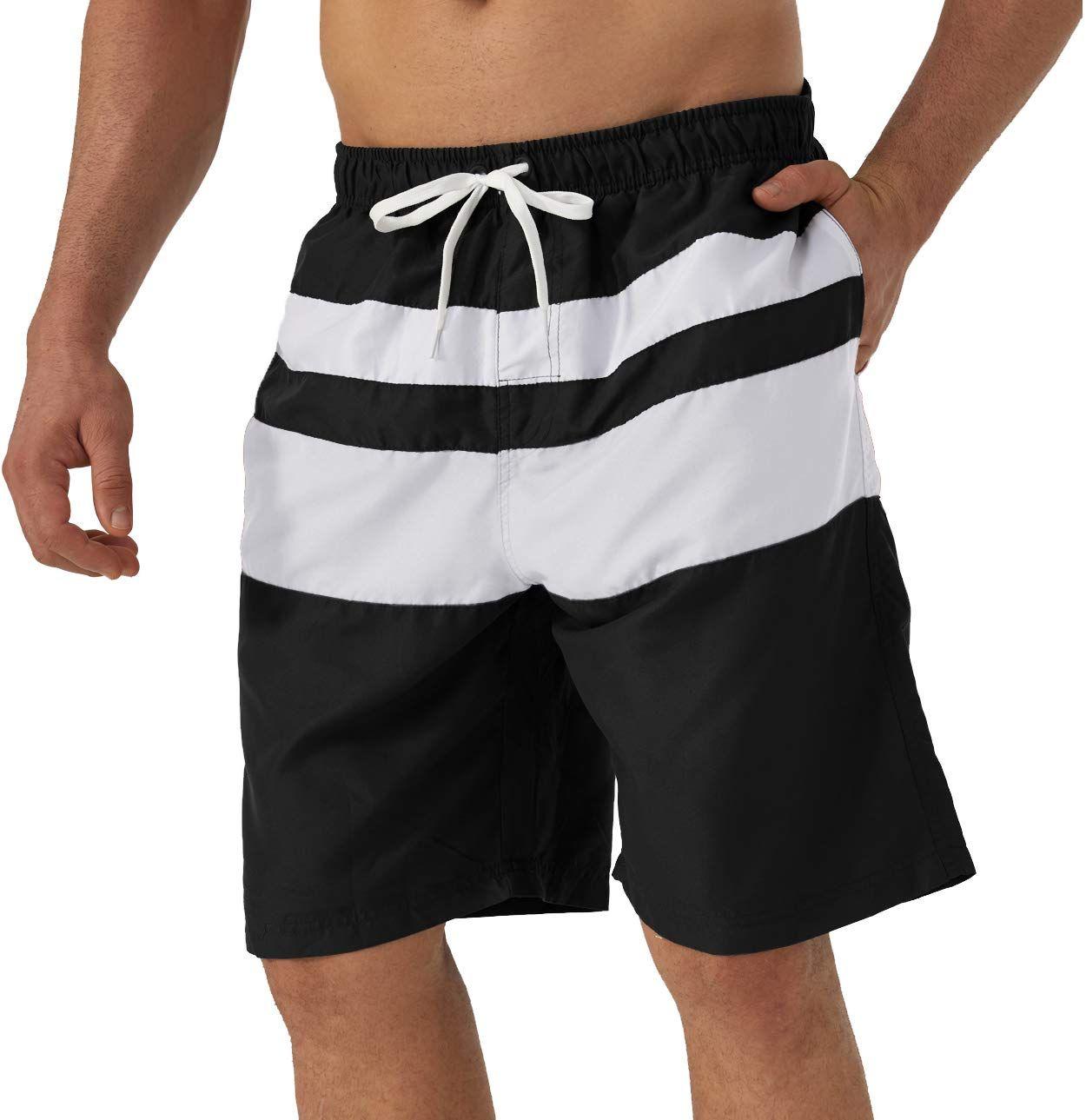 Herrenmode Badeshort Schwimmhose Bademode Boxer Board Shorts Strand Schwimmshort