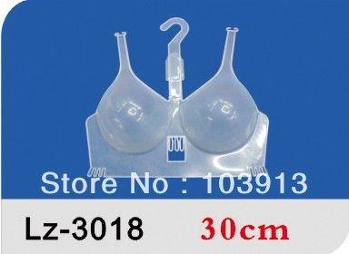 Free DHL/Fedex 100pcs/Lot  Lady's Bra Displaying Hangers Plastic Bra Holder $135.00