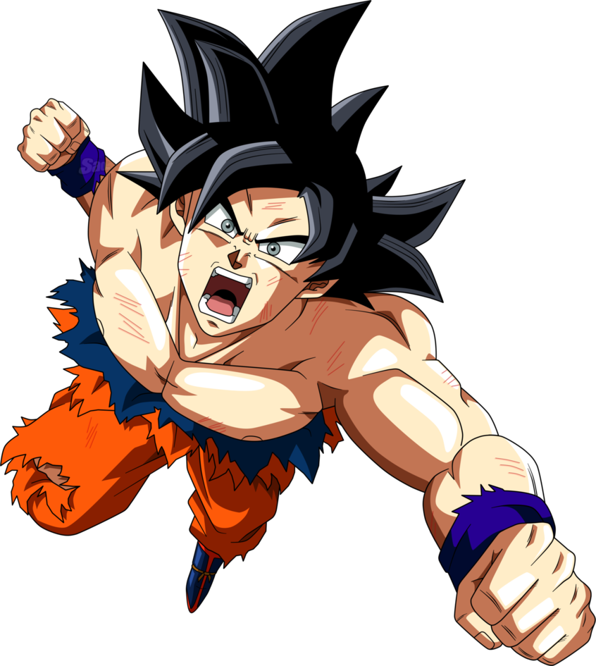 Goku Ultra Instinto By Saodvd Limit Breaker Goku Pinterest