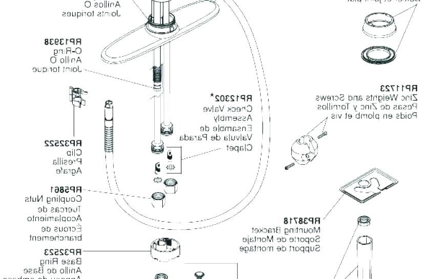 Delta Bathroom Faucet Parts Diagram Dengan Gambar
