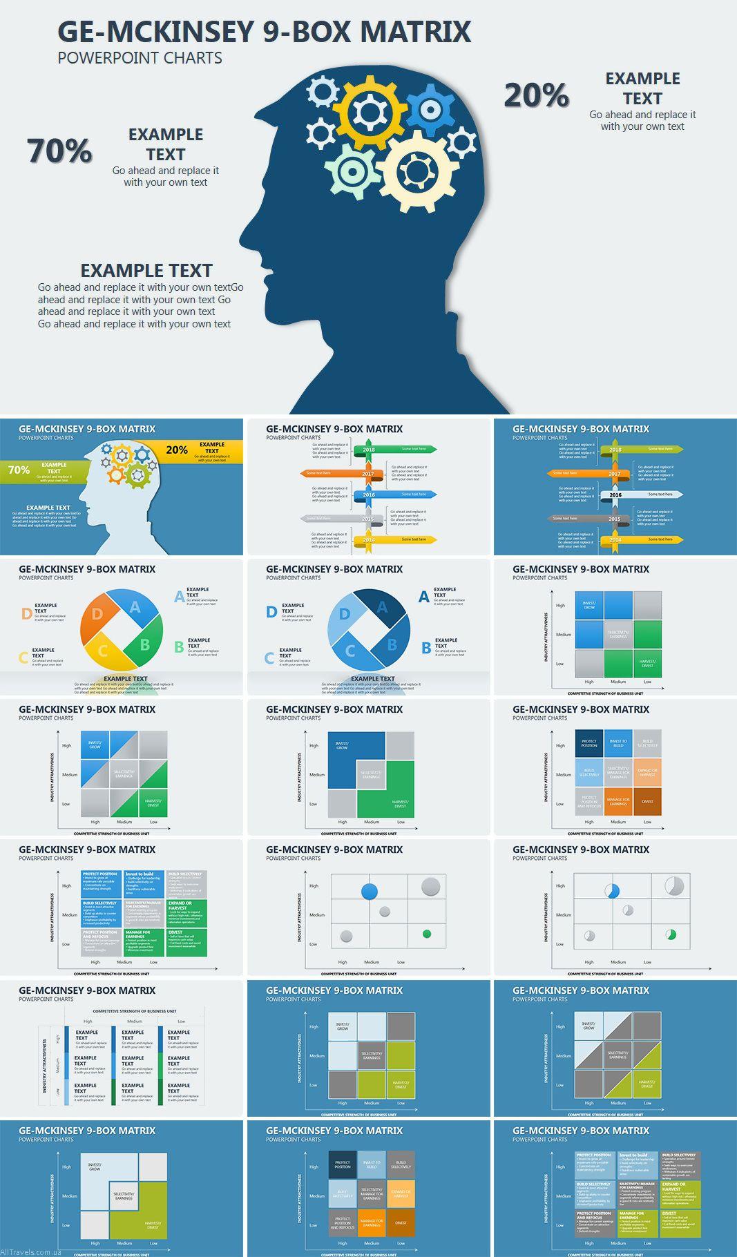 Ge Mckinsey Matrix Powerpoint Charts Templates