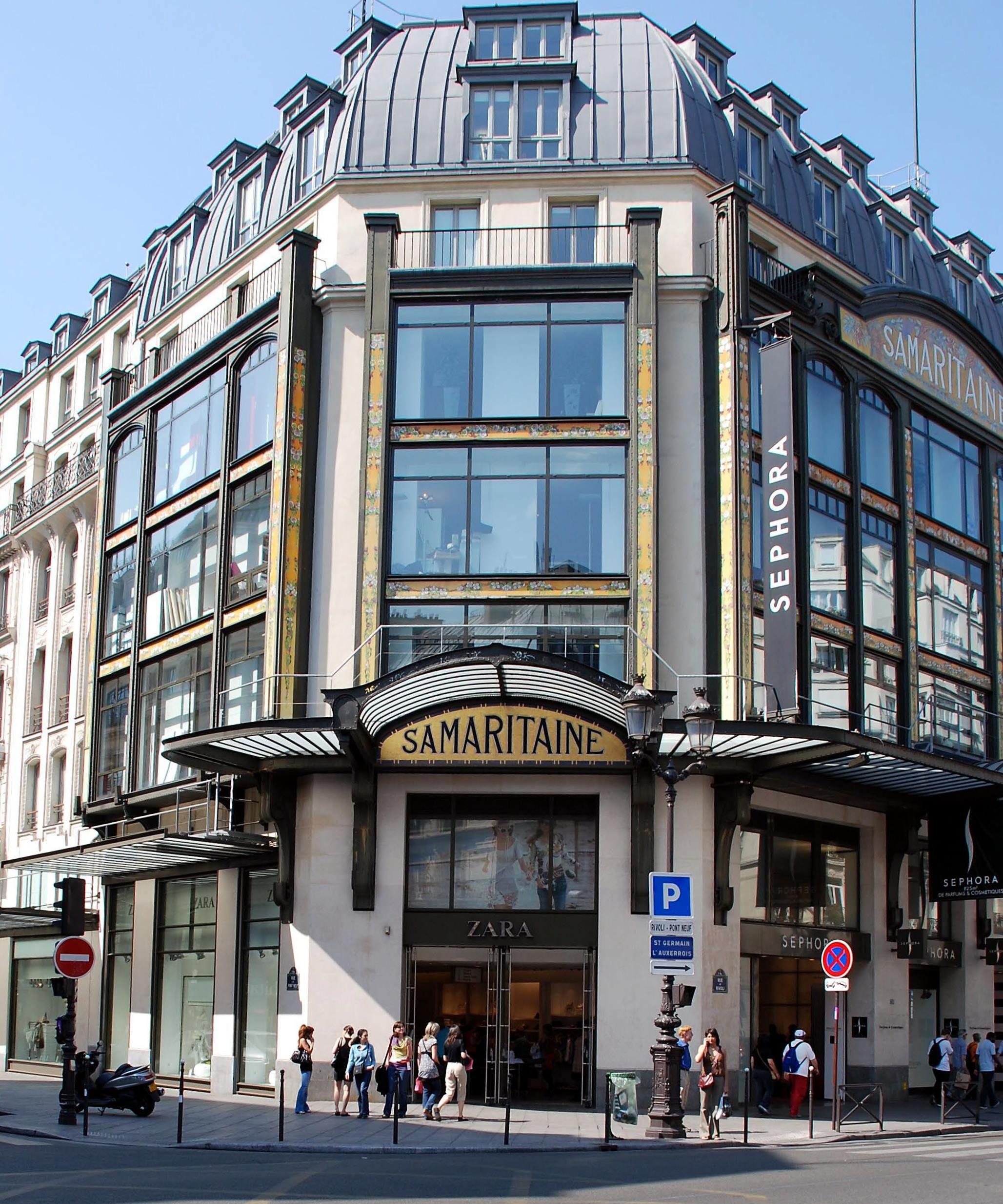 la samaritaine m lange art nouveau et art d co 19 rue de la monnaie paris i paris 1 en. Black Bedroom Furniture Sets. Home Design Ideas